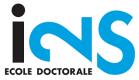 École doctorale I2S